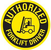 SCIE authorized forklift driver
