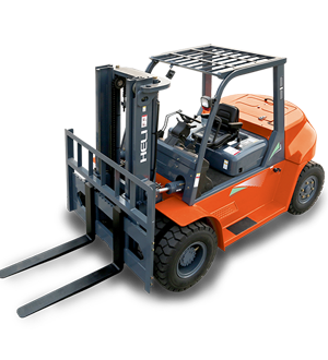 Heli high capacity forklift